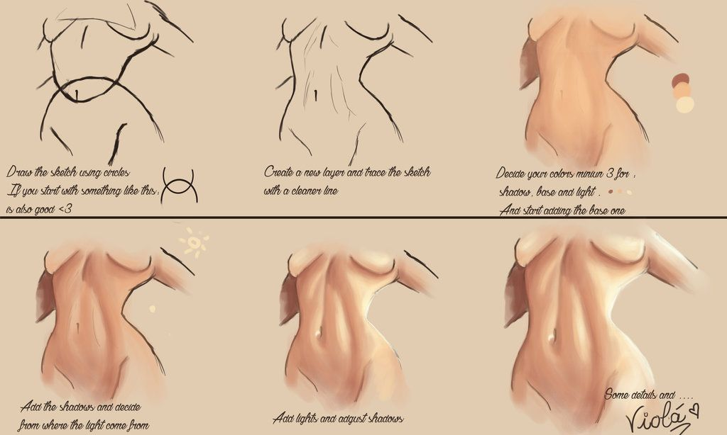 Making a sexy female belly gift by alexiafelix paint skin art reference negle Images