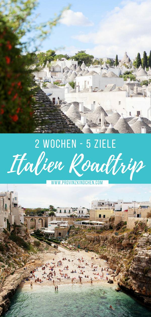 Italien Roadtrip: In 2 Wochen quer durch Italien. San Marino, Apulien, Amalfi Küste, Toskana, Gardasee. #roadtrip #italien #reisen #usroadtrip