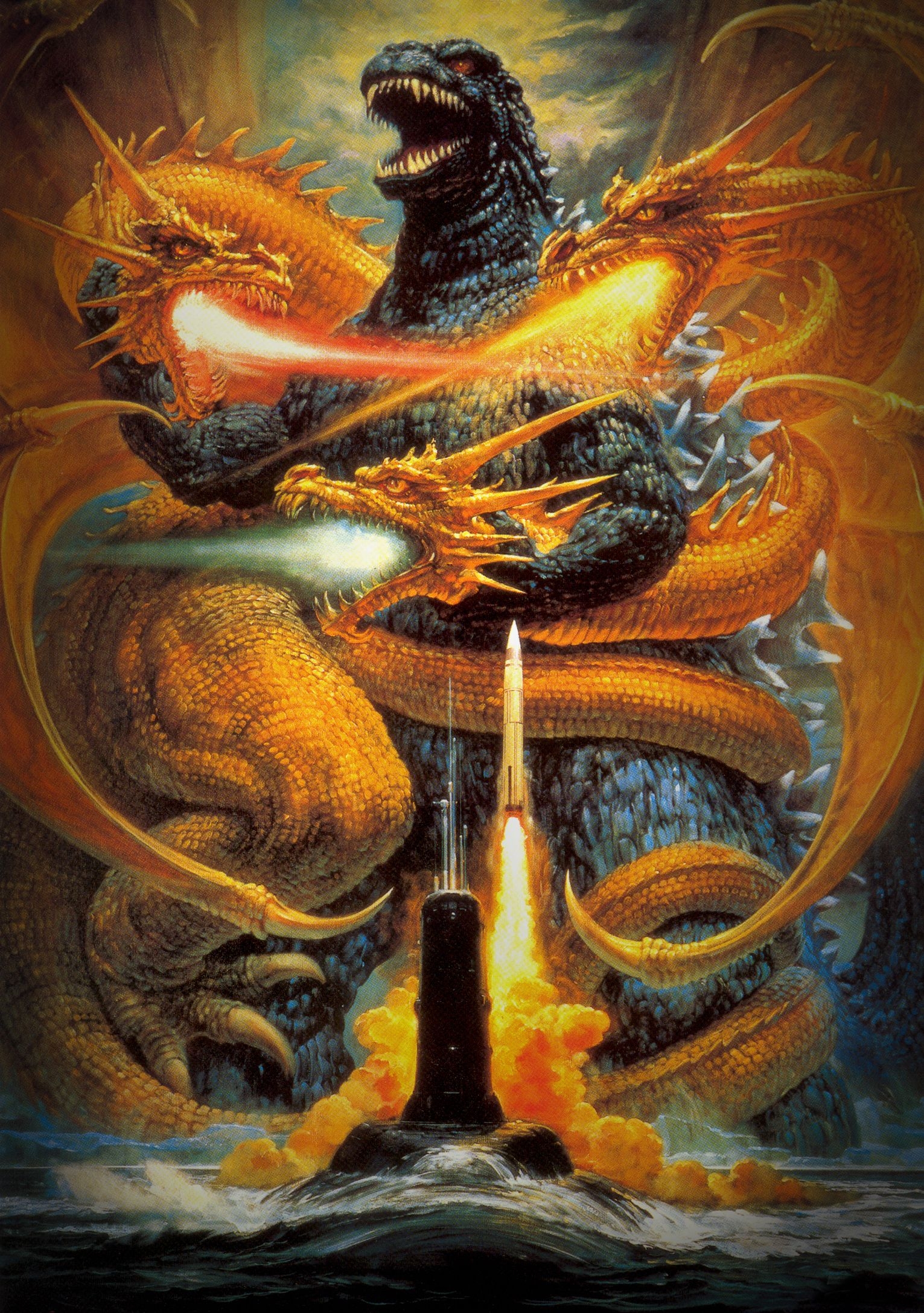 Movie Poster 44   Original godzilla, Godzilla vs king ...