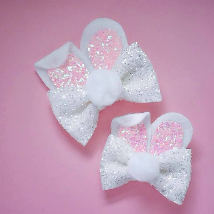 Handmade hair accessories – Miss Rubylocks #hairbows