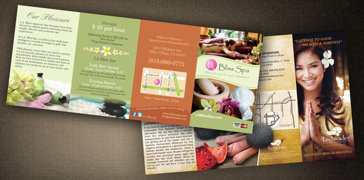 spa brochure design - Google Search Design  Brochures - spa brochure