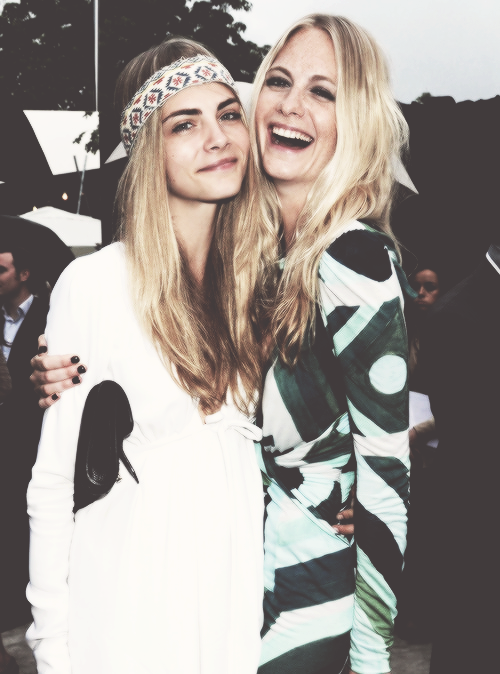 The Delevingne sisters, who are pretty much the reigning queens of cool.