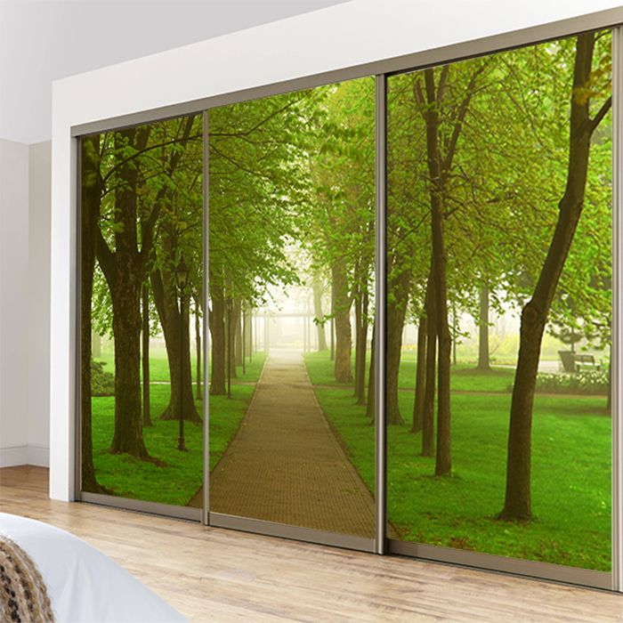 Find more decorative films information about forest landscape custom cheap glass window film buy quality glass window directly from china glass stickers suppliers forest landscape custom sliding door partition wall painting planetlyrics Gallery