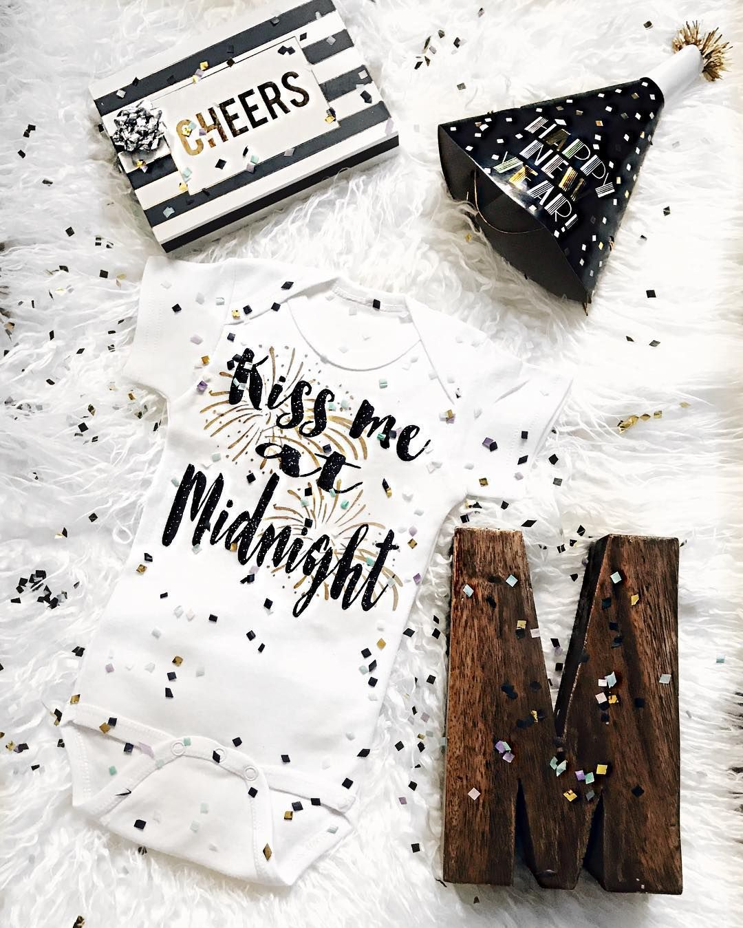 Baby Marshall S New Year Eve Baby Announcement Fun Baby Announcement New Baby Products Baby Announcement