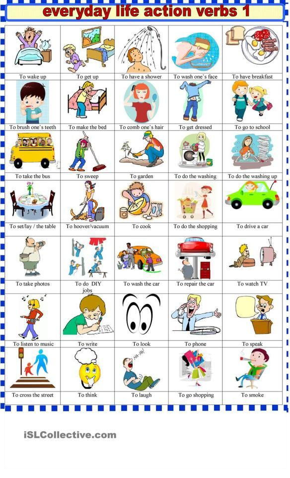Action Verbs Amusing Action Verbs  Education  Pinterest  Action Verbs And Language