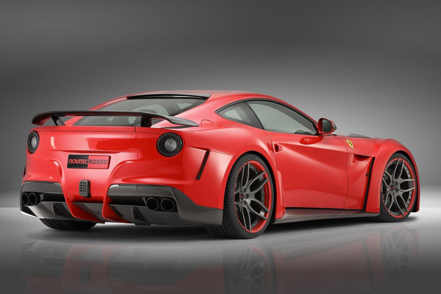 The F12 Berlinetta by Novitec Rosso