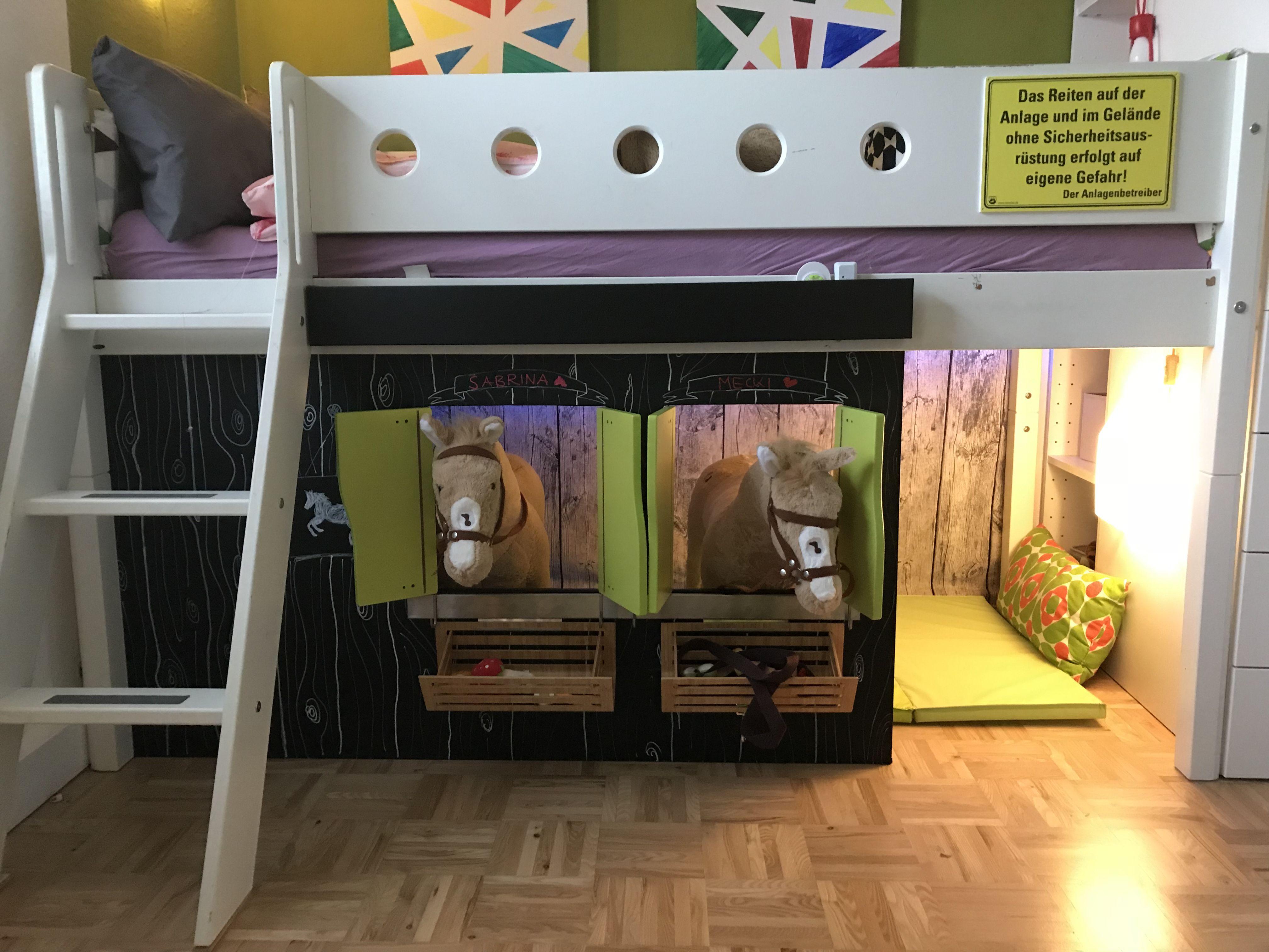 Hochbett Selbst Gebaut : pferdestall unter dem hochbett selbst gebaut pferde ~ Watch28wear.com Haus und Dekorationen