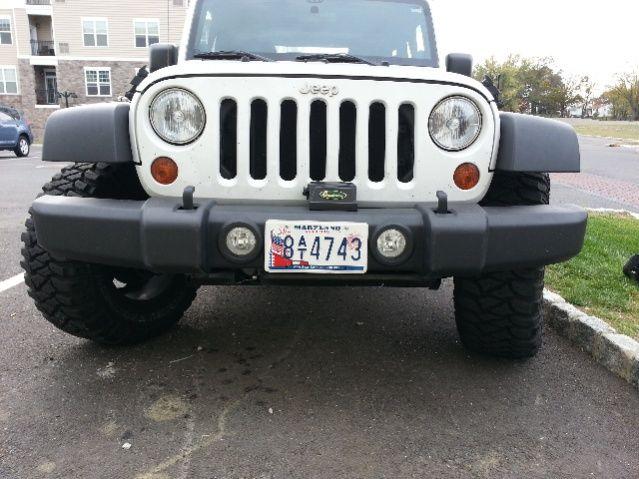 Best Jeep Wrangler Unlimited Front License Plate Bracket