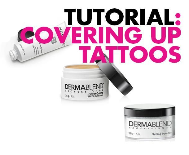 DIY Tutorial: How to Cover Up Tattoos (for interviews and such)