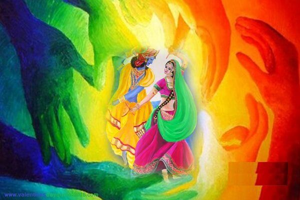 Radhakrishna Holi Hd 3d Wallpapers Images Cute Photos 2017