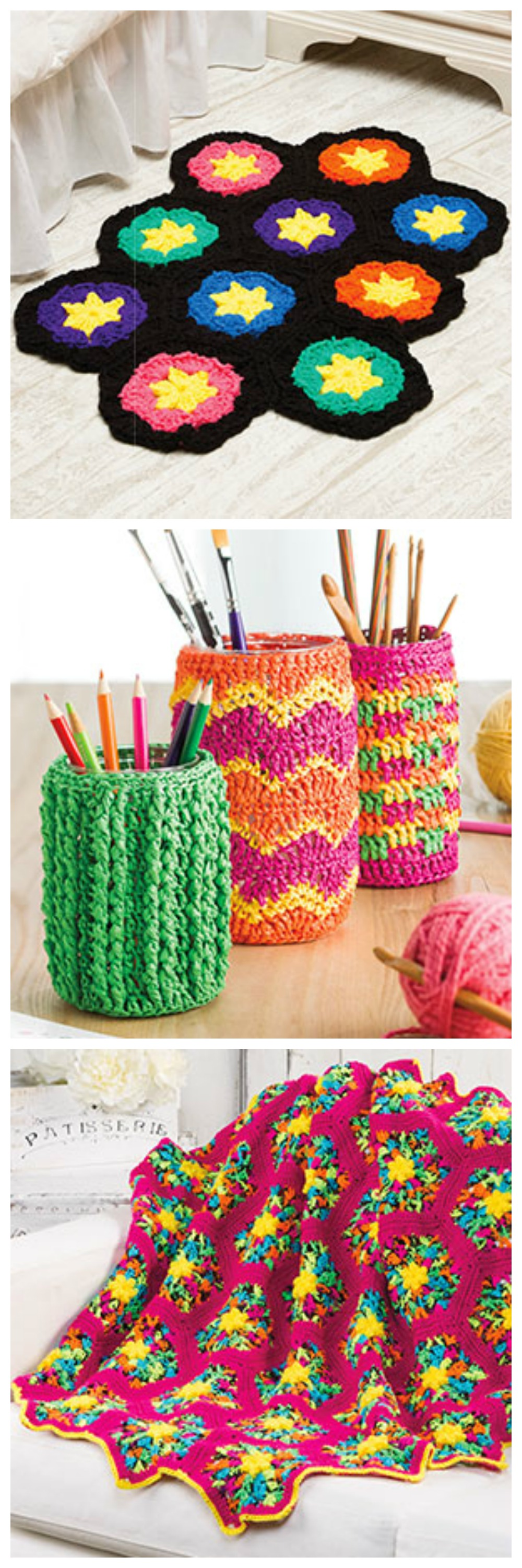 From the August 2016 issue of Crochet World Magazine. Order a ...