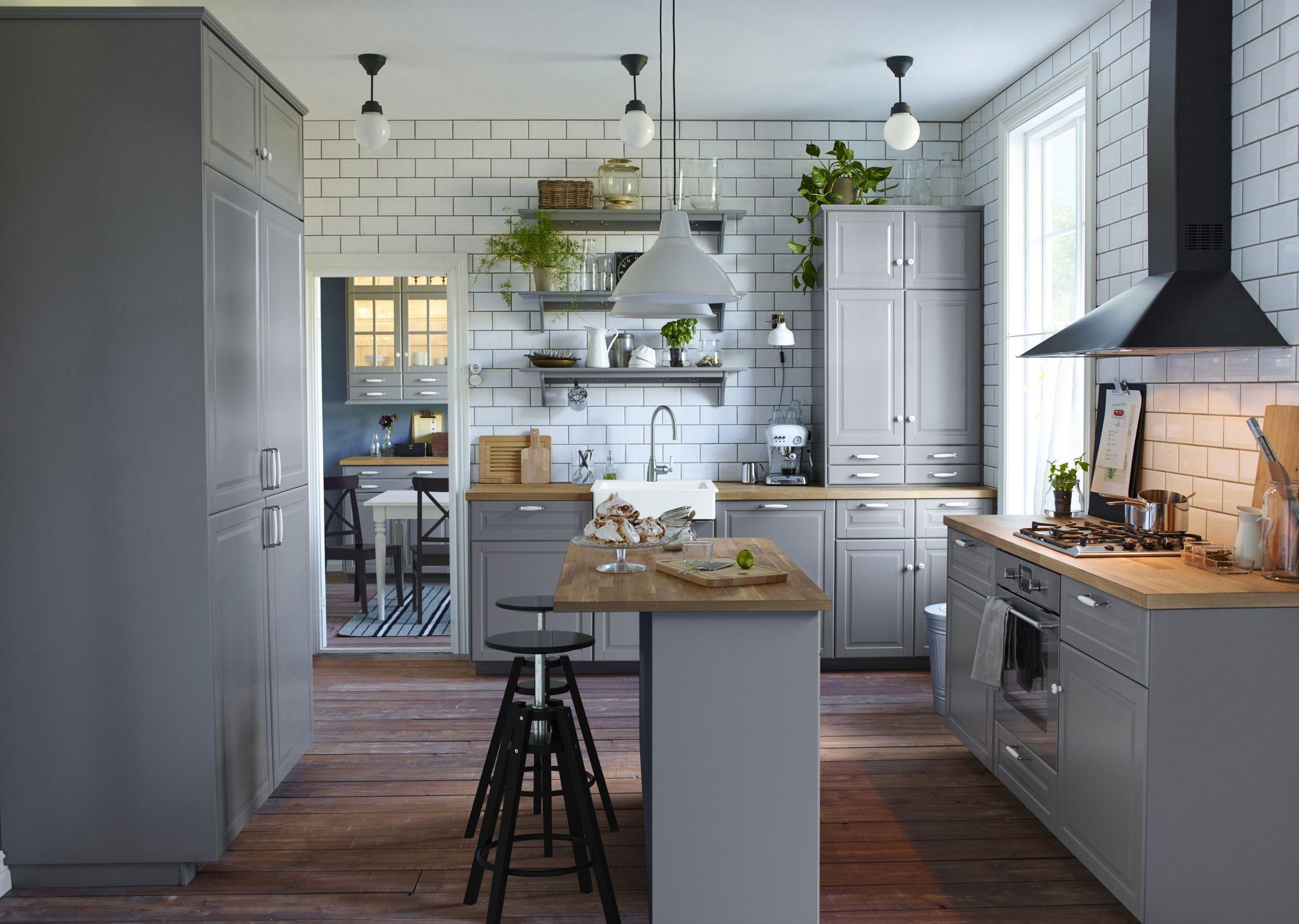 Dale vida a tu cocina #IKEA con mucha luz. | METOD, la cocina del ...
