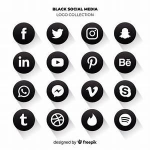 Logo Noir Reseaux Sociaux Resultats Yahoo France De La Recherche D Images Social Network Icons Social Media Logos Logo Collection