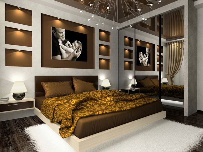 romantic master bedroom decorating ideas with best lights Master