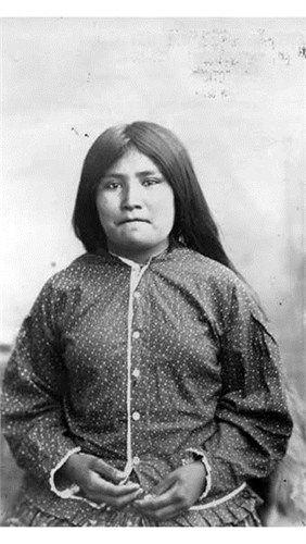 Apache Daughter of Geronimo \ Chee-Hash-Kish Geronimo