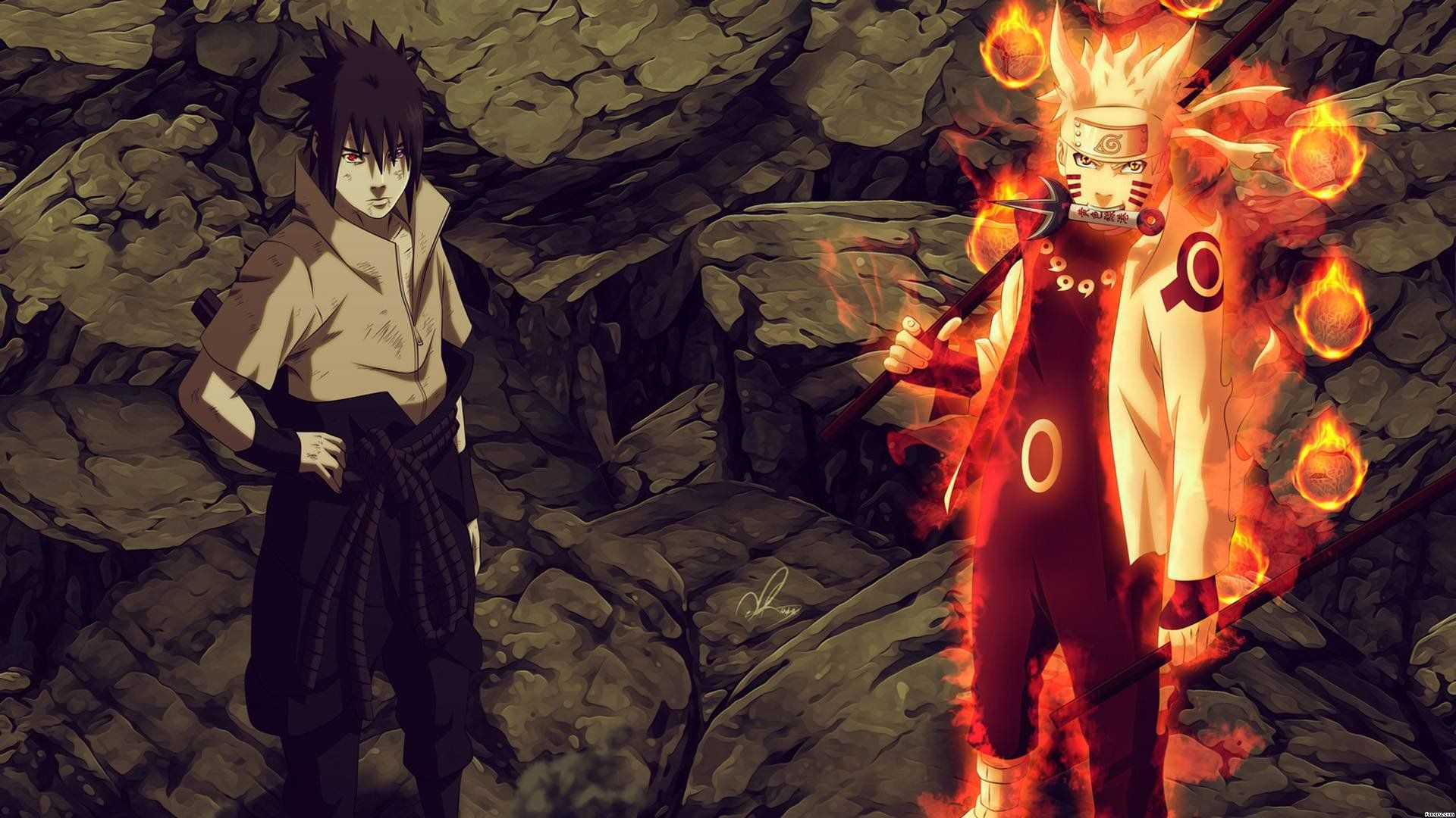 Naruto Vs Sasuke Super Hd Hd Desktop Wallpaper Widescreen 1600