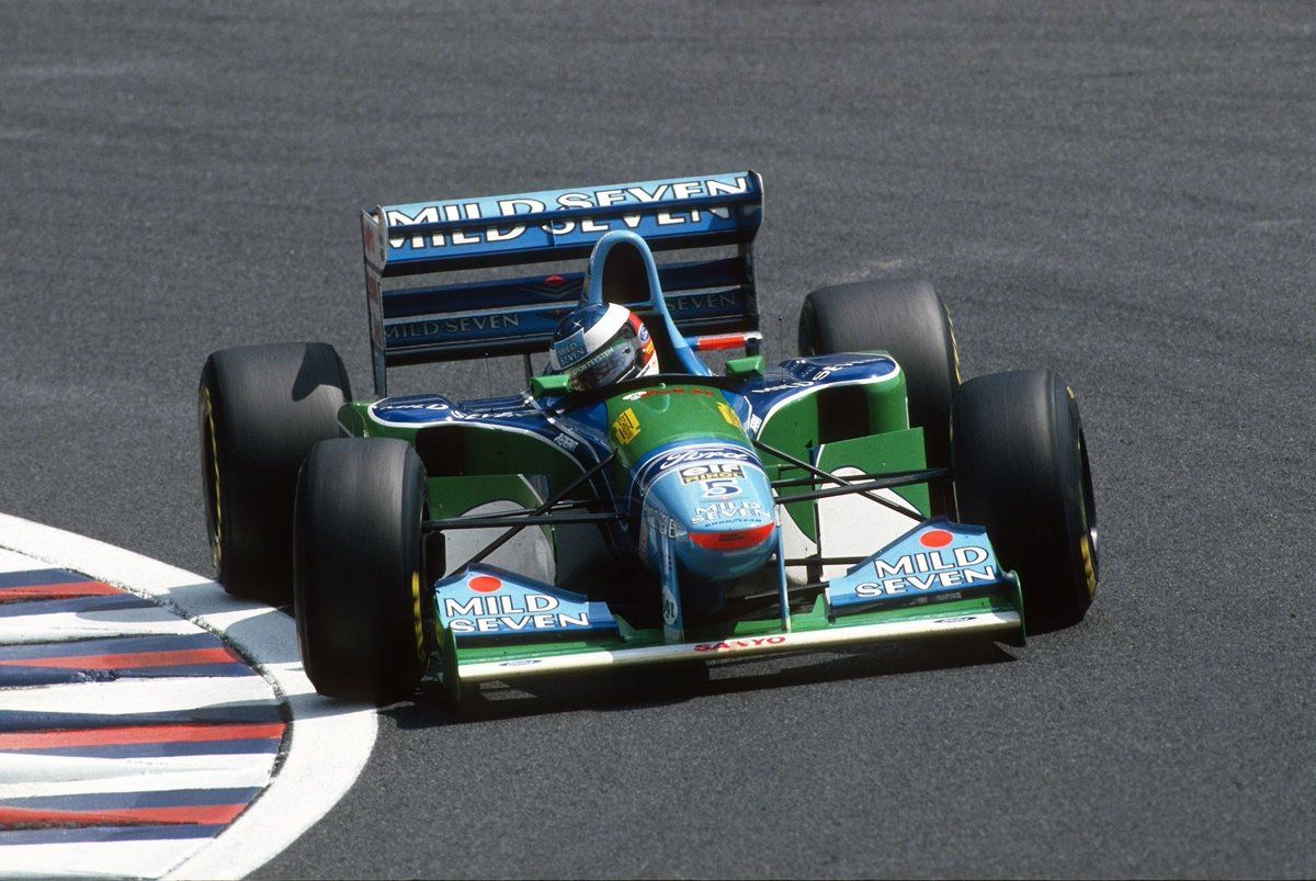 Michael Schumacher Mild Seven Benetton B194 Ford Eca Zetec R