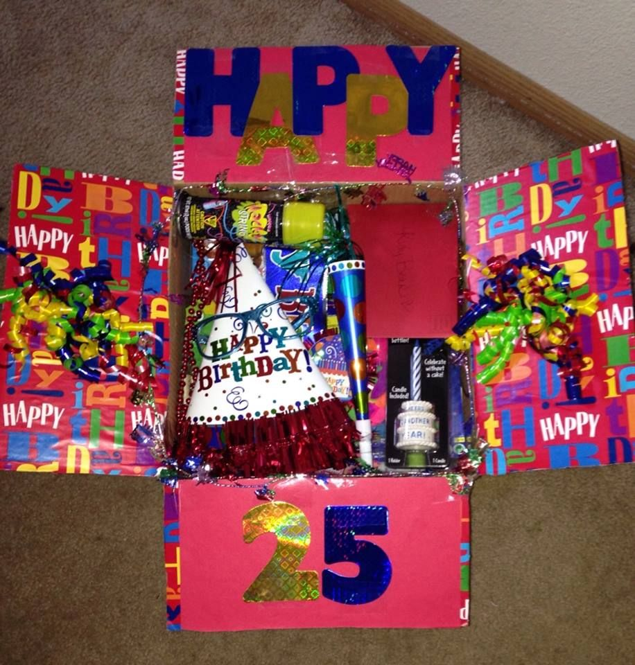 Happy Birthday Deployment Care Package That I Sent Kiefer In Afghanistan