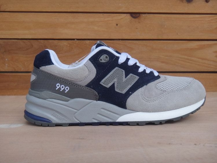 Fashion New Balance 999 Navy Grey White
