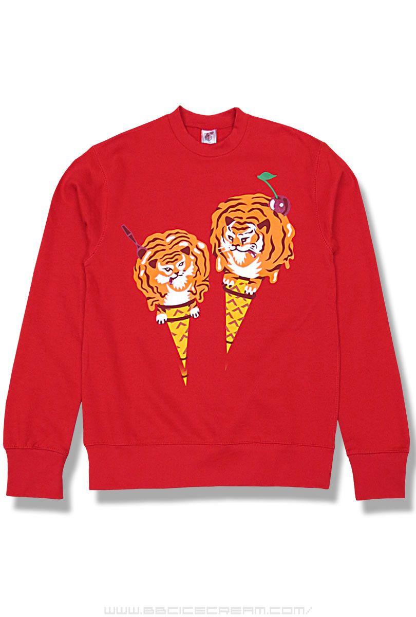 3bd505ef3cf Icecream by Billionaire Boys Club.  sweatshirt  tiger  icecream  bbc ...