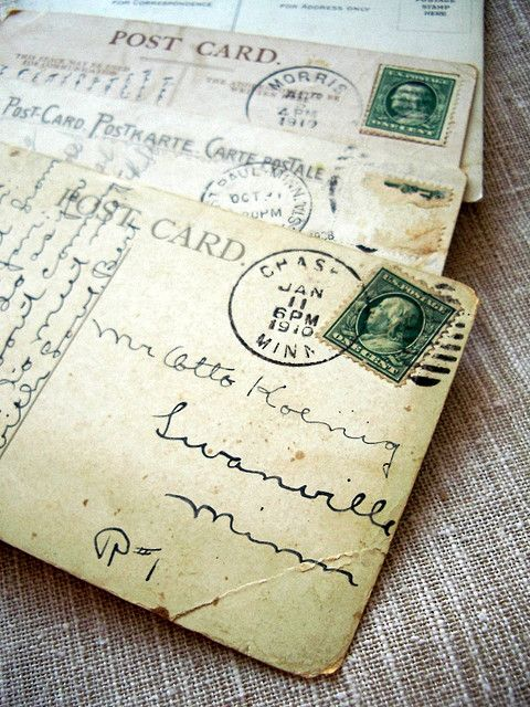 How to store old letters and cards