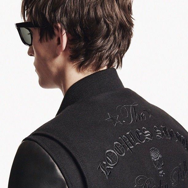 Alex Dunstan for The Kooples #thekooples #lookbook #leather #teddy