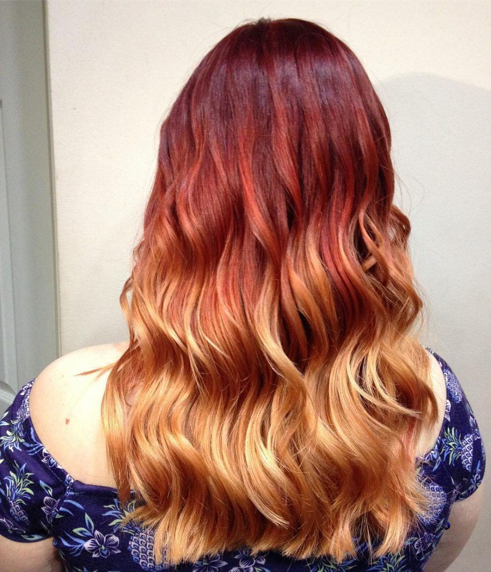 long ombre hair ideas blowing up in hairstyles for long