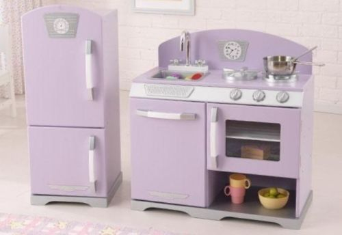 Pretend Play Kitchen Childrens Kids Boys Girls Fridge Freezer Oven Dishwasher Kidkraft Retro Kitchen Kids Play Kitchen Retro Kitchen