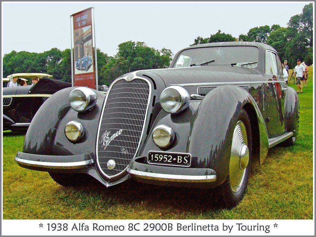 1938 Alfa Romeo 8c 2900b Berlinetta