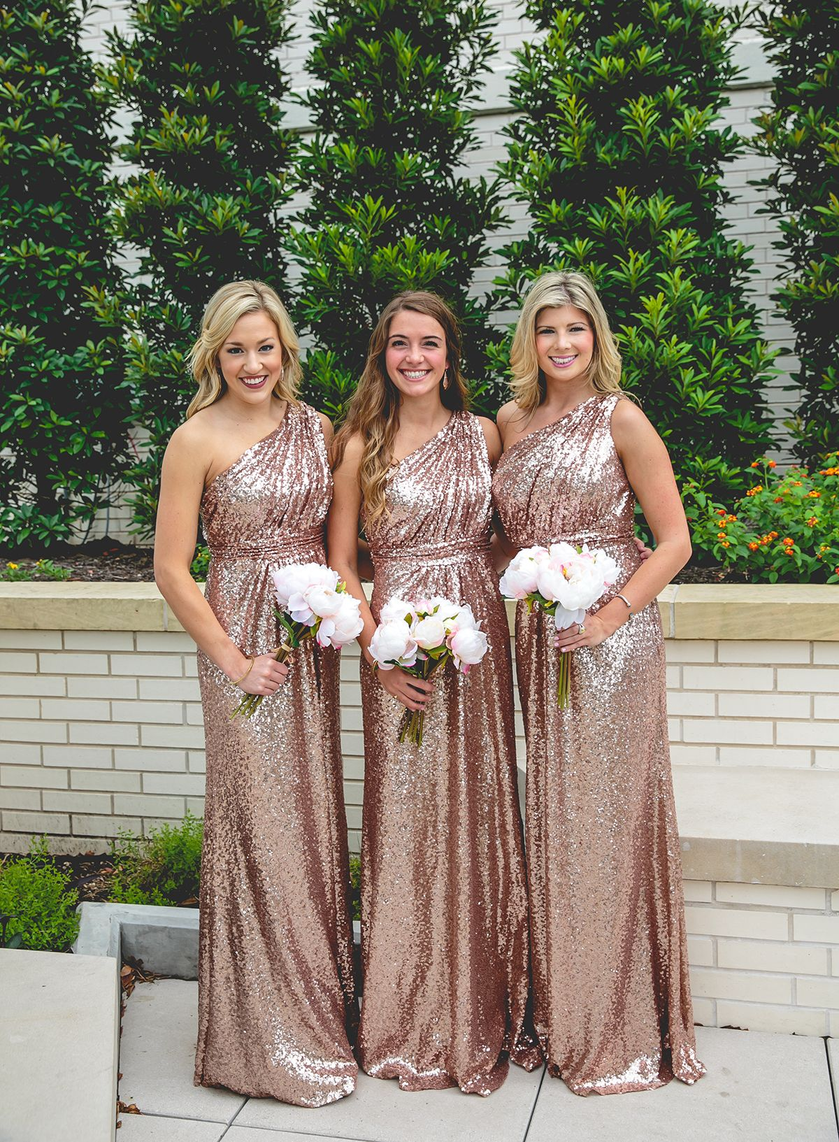 Shoprevelry floor length rose gold sequined bridesmaid dresses shoprevelry floor length rose gold sequined bridesmaid dresses ombrellifo Choice Image