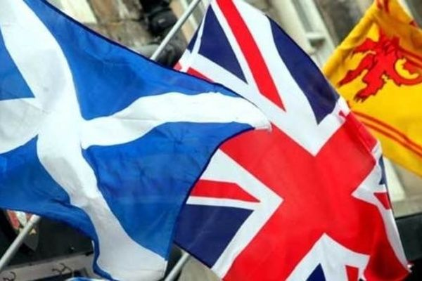 We are Stronger United and Better Together Scottish