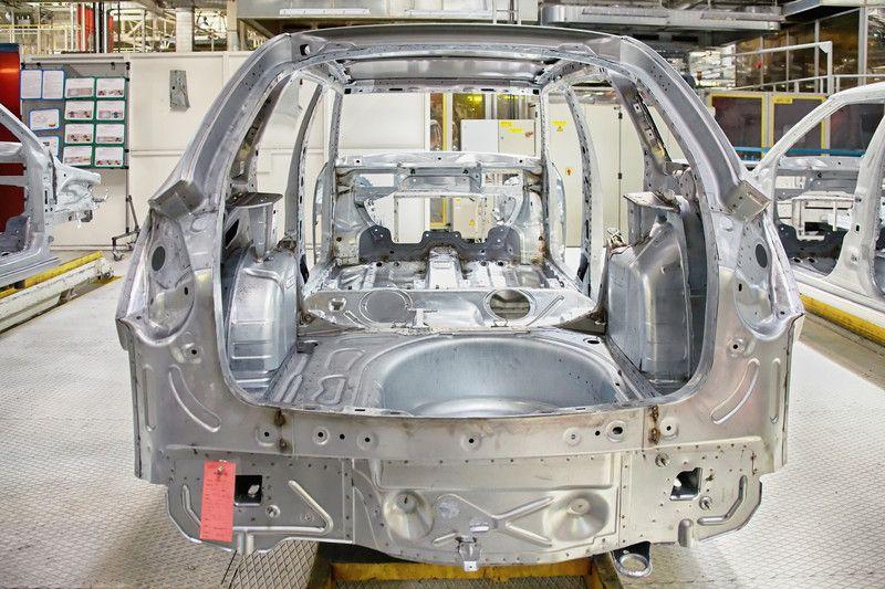 Automobile Body At Car Plant The Body Shop Automotive Design Body