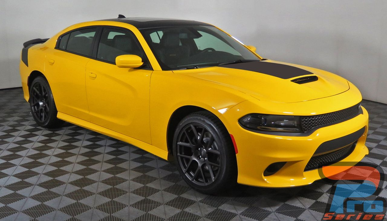 Muscle Hood 15 Dodge Charger Stripes Charger Decals Charger Vinyl Graphics Dodge Charger Vinyl Graphics Srt