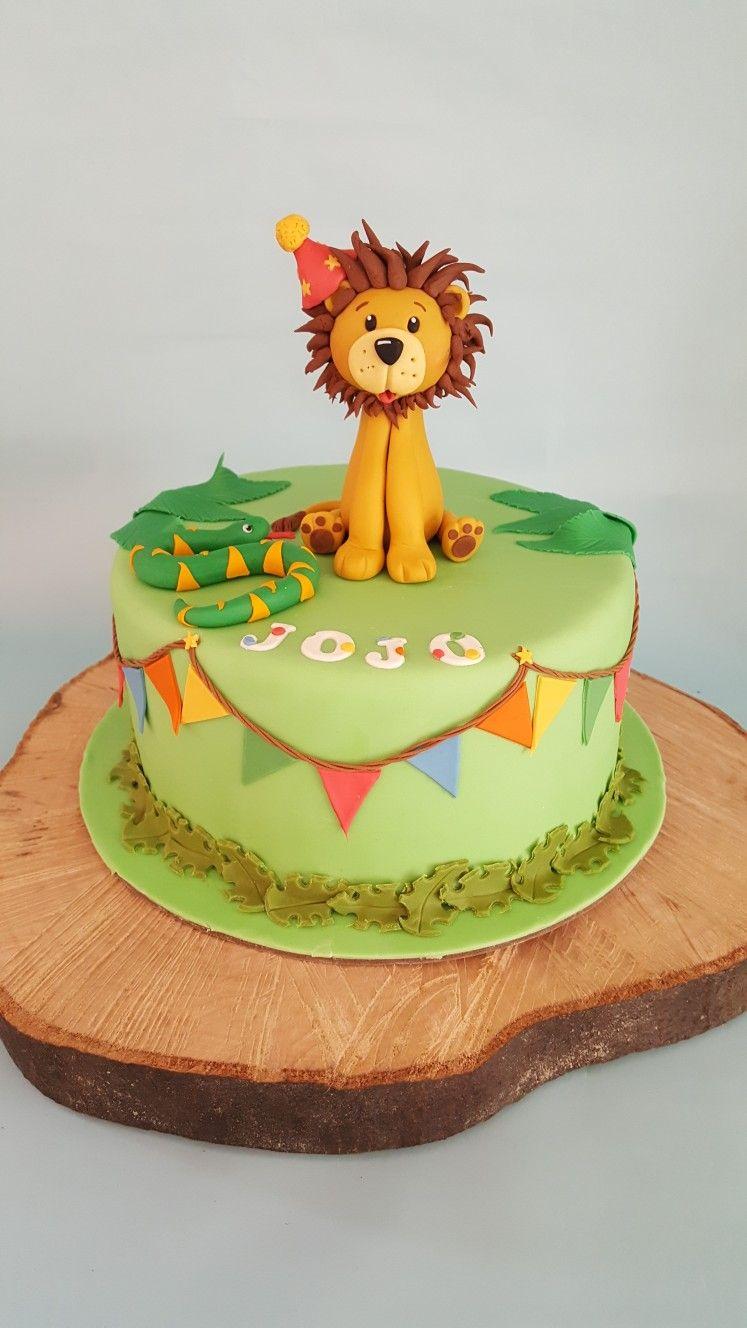 cake design maker app Lion Birthday cake  Geburtstagstorte, Torten