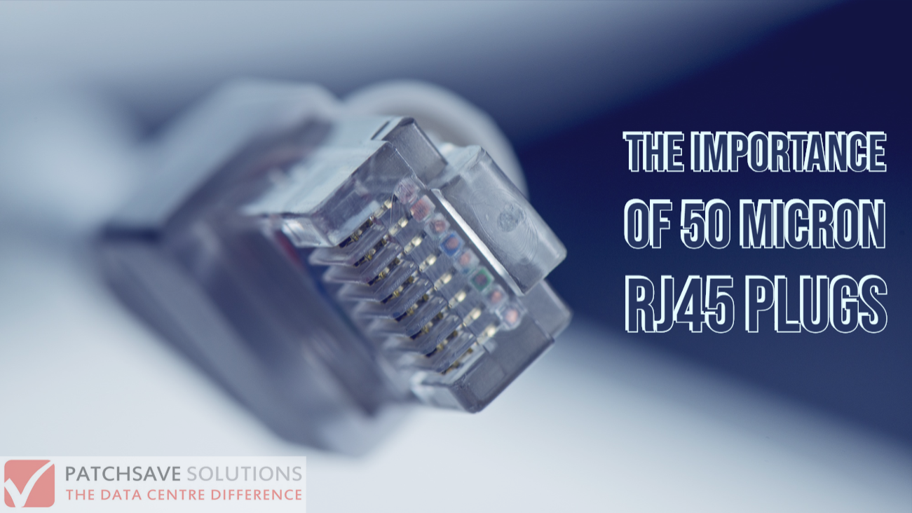 The importance of 50 micron RJ45 plugs Rj45, Plugs