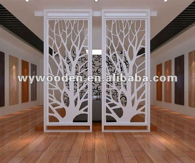 MDF Decorative Trellis Panels Restuarant Decoration In HK