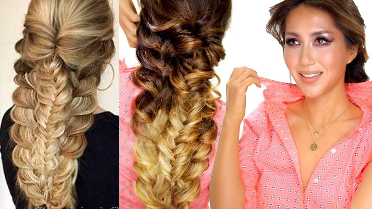 easy topsy braid hairstyle everyday hairstyles prom u school