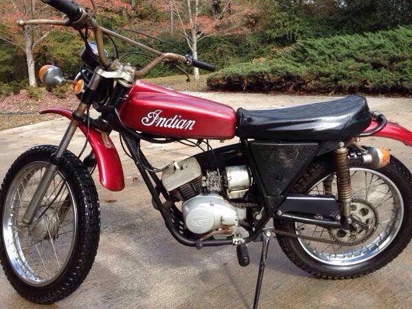 1970 Indian Me 100 100cc Motorcycle Dirt Bike Classic Motorcycles Vintage Motorcycles
