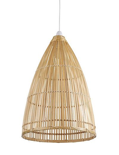 Beautiful Handcrafted Bamboo Pendant Lamp From Marks Amp Spencer Decora 231 227 O Cozinha Americana