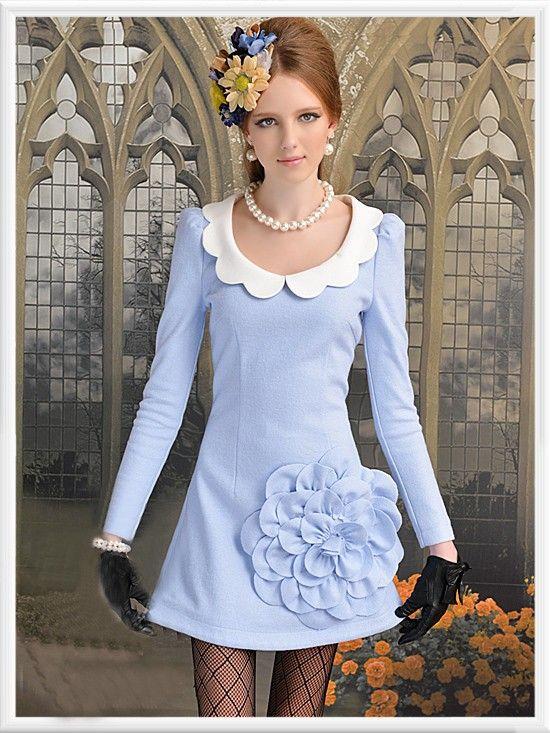 Morpheus Boutique  - Blue Floral Trendy Lady Long Sleeve Overcoat, $89.99 (http://www.morpheusboutique.com/blue-floral-trendy-lady-long-sleeve-overcoat/)