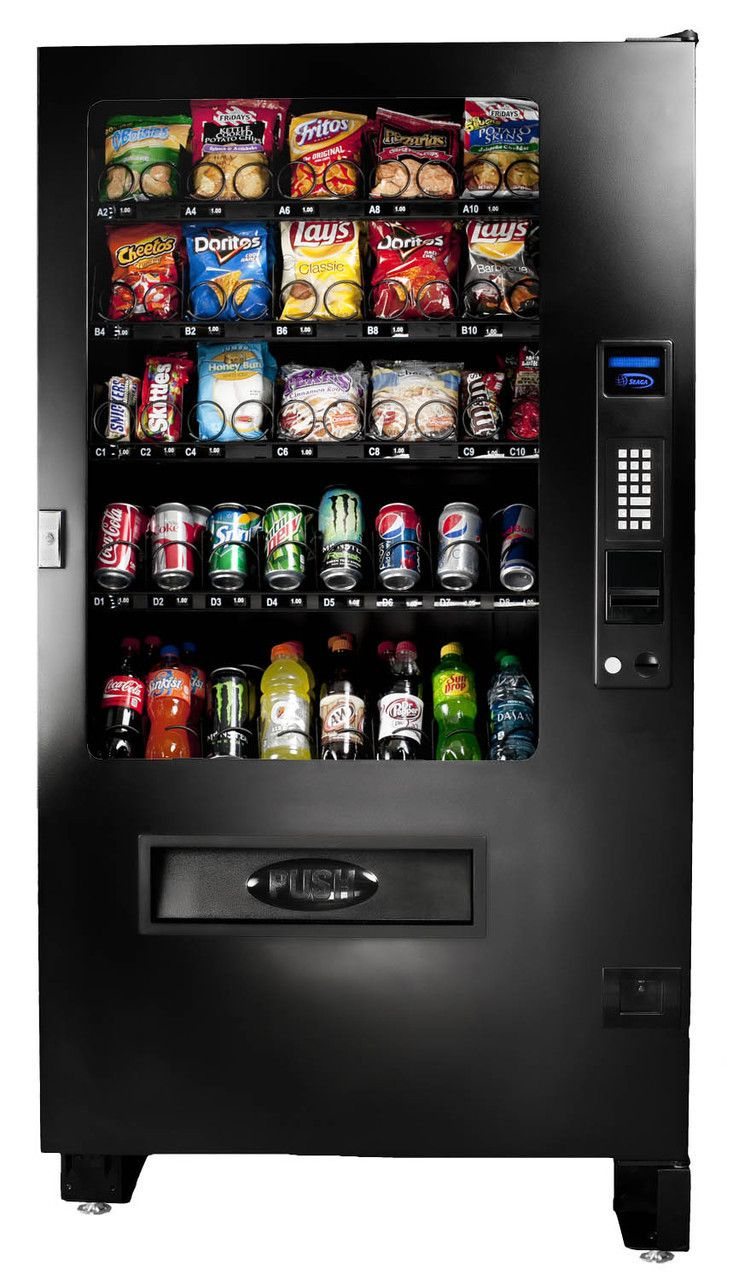 Seaga Infinity 5c Snack Cold Foodvendingmachine New Soda
