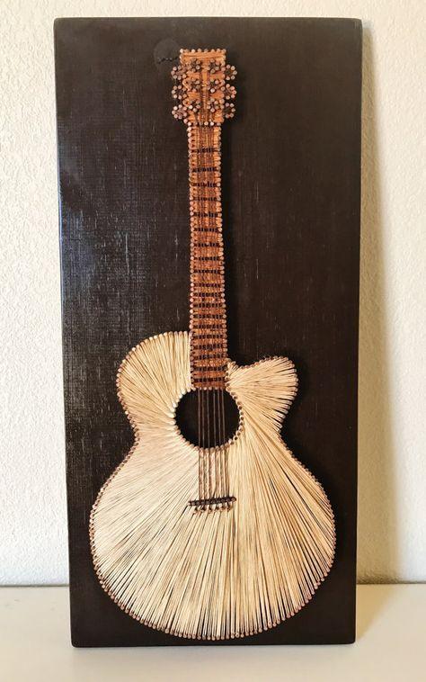 Guitar String Pattern : guitar string art von stringything auf etsy art of craft string art string art patterns e ~ Hamham.info Haus und Dekorationen