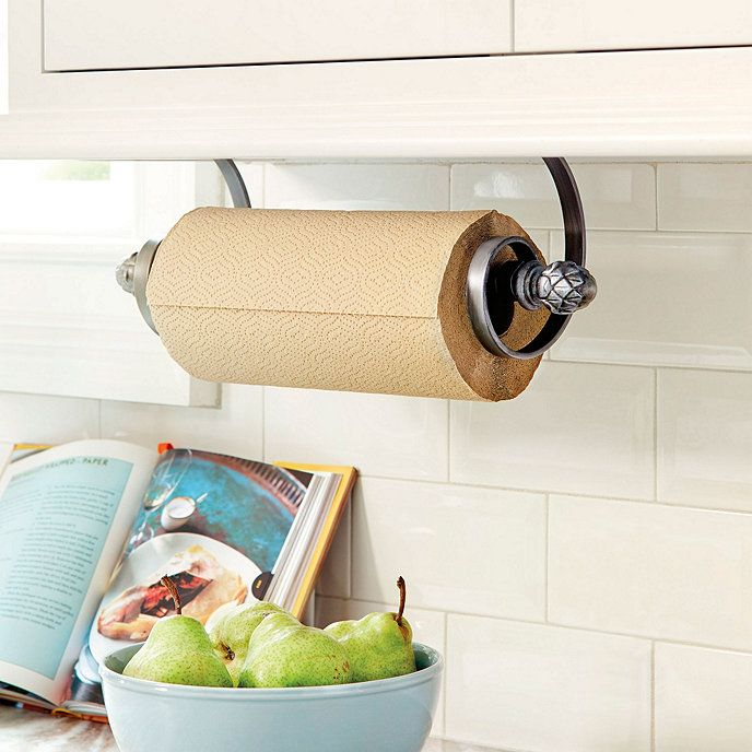 Under The Cabinet Paper Towel Holder Captivating Artichoke Under Cabinet Paper Towel Holder  Paper Towel Holders Design Inspiration