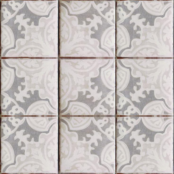 Simply Elegant Terracotta Tile Oxford Gray On Off White Get It At World