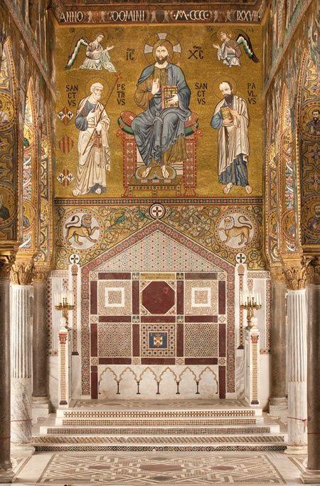 cappella palatina palermo | Cappella Palatina, Palermo, Italy