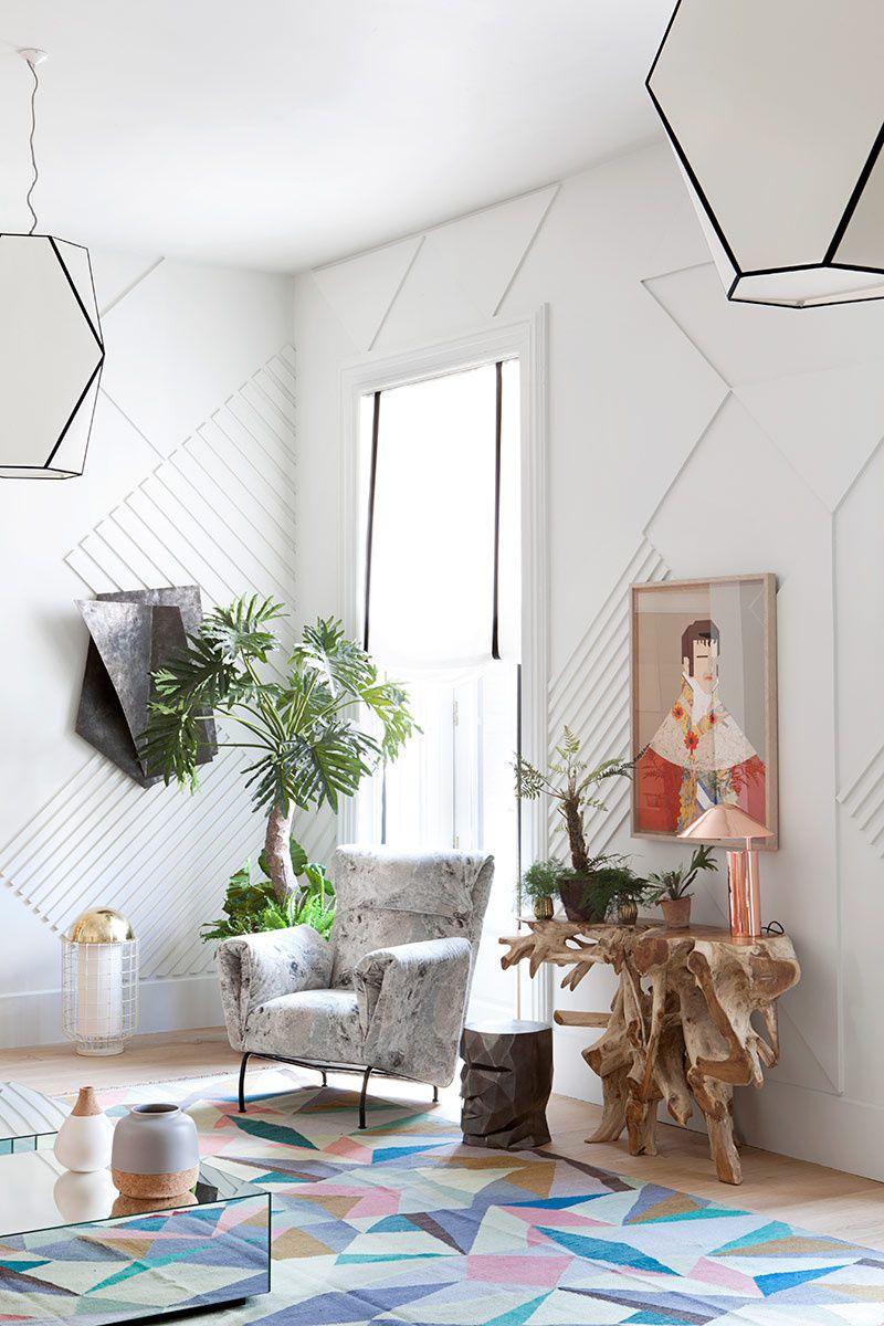 Casa Decor 2016 Geometr A Suelos Y Perfecta # Muebles Viu Comedores
