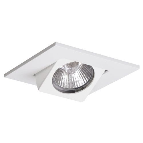 Halo Recessed 3013wh 3 Inch Adjustable 15 Degree Square Gimbal Trim White Halo Recessed Ht Recessed Lighting Fixtures Recessed Lighting Trim Recessed Lighting
