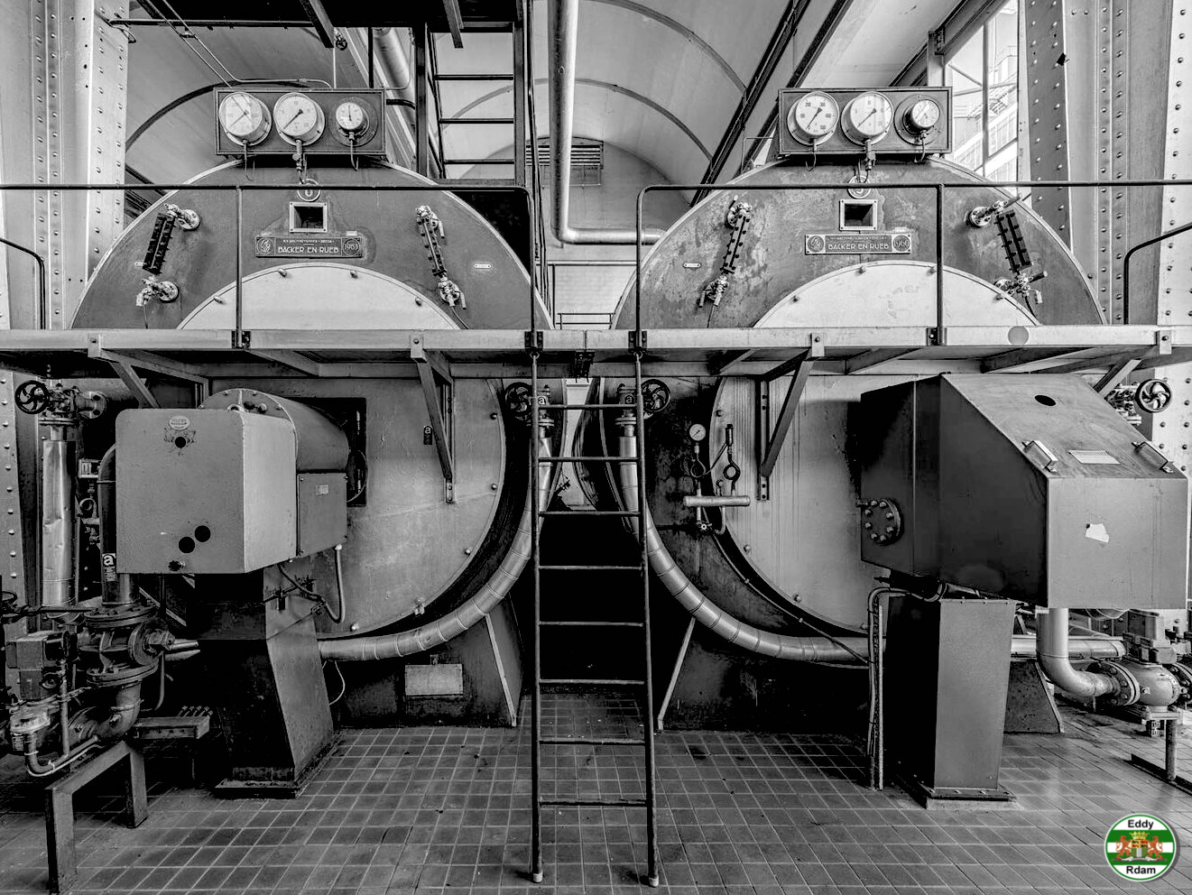 2019. Van Nelle, ketelhuis de kolenbranders zijn vervangen
