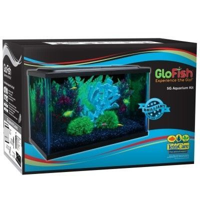 Aquatics Kits Starter Boxed Glofish Kit Low Profile 5gal Upg Marineland Glass Nblsvlle Upc 47497331781 Dept Aquatic Products Aquarium Kit Aquarium Aquarium Stand