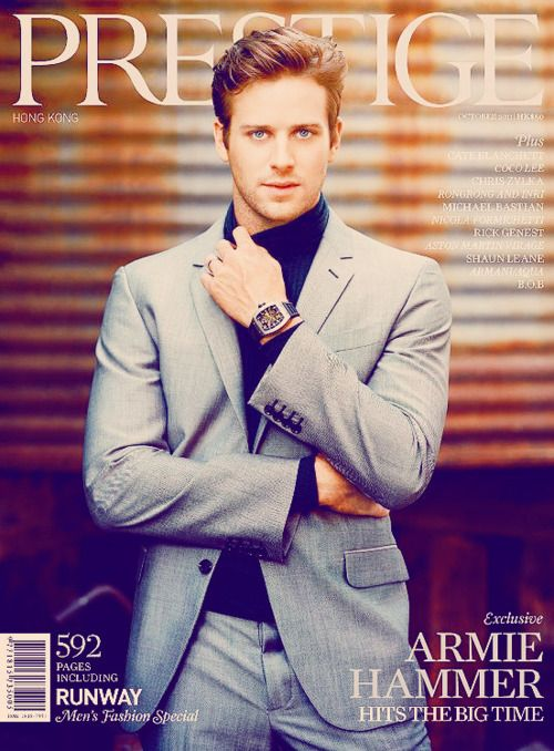 Armie Hammer would make a GREAT Ramsey